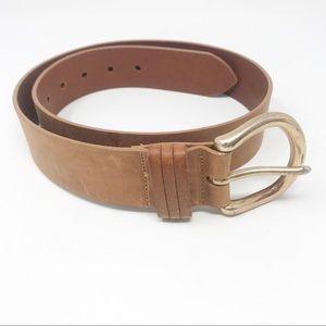 Eddie Bauer Tan Belt Size M